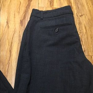Theory 4 Dark Grey Bootcut Trousers